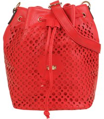 bolso rojo stefani aros