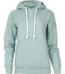 basic katoenen hoodie harlem  lichtblauw