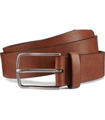 men's allen edmonds broadway avenue leather belt, size 38 - walnut calfskin