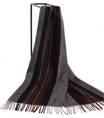 lyza sciarpa scozzese da uomo stile britannico con collo lungo in lana sciarpa soft scialle doppio