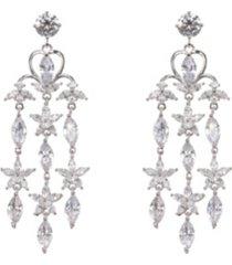 nina chandelier earrings