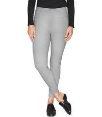 b new york zip-cuff leggings