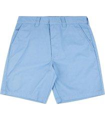 supreme straight-leg work shorts - blue