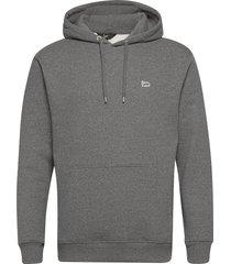 plain hoodie hoodie trui grijs lee jeans