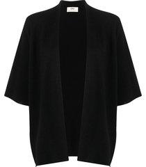 sminfinity fine-knit cashmere cardigan - black