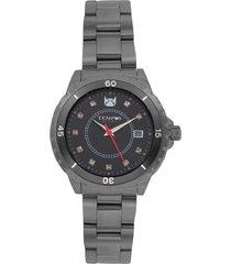 reloj  para dama negro marca tempus