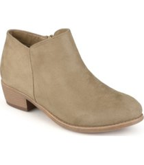 journee collection women's sun bootie women's shoes