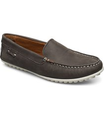 plain driving loafer wmn loafers låga skor brun marstrand