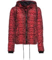 giacca trapuntata con cappuccio (rosso) - bodyflirt
