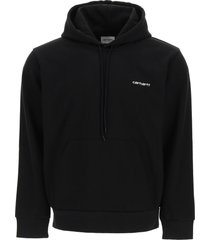 carhartt script embroidery hoodie