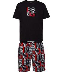 relax short set pyjamas svart boss