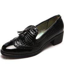 zapato para dama tellenzi luciana negro