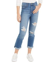 celebrity pink juniors' girlfriend ankle jeans