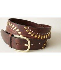 sundance catalog women's nakomi belt in brown small