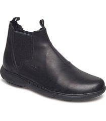 u nebula a shoes chelsea boots svart geox