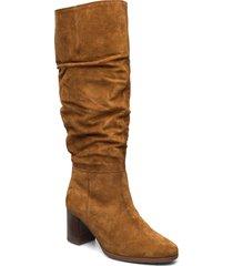 boot höga stövlar brun gabor