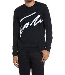 men's topman signature crew sweater
