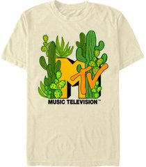 men's mtv cacti galore short sleeve t-shirt