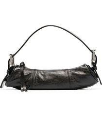 by far slim tote bag - black