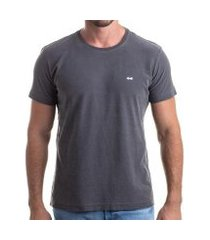 camiseta clothis grey flamê stone masculina