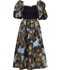 monika, 701 organza jurk knielengte multi/patroon stine goya