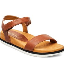 cervera_sty shoes summer shoes flat sandals brun unisa