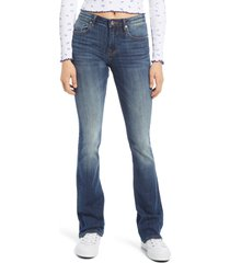 women's vigoss jagger bootcut jeans, size 29 - blue