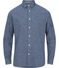 skjorta slhreggunnar-niels shirt ls mix w