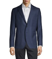 classic check sport jacket
