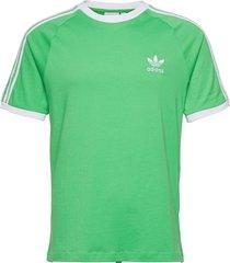 adicolor classics 3-stripes tee t-shirts short-sleeved grön adidas originals