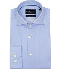 duetz1857 duetz 1857 overhemd dress print blauw