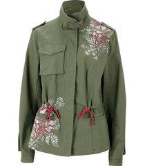 giacca militare stampata (verde) - john baner jeanswear