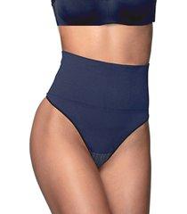 calcinha cinta ultraleve demillus 46204 marinho - azul - feminino - dafiti