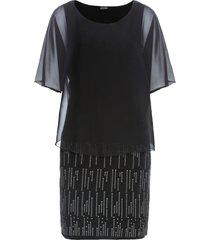abito con glitter (nero) - bodyflirt