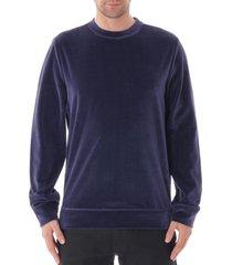 a.p.c  iak sweatshirt |dark navy| c0dcr-27531