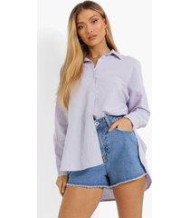 oversized linnen blouse, lilac