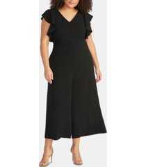 rachel rachel roy trendy plus size cropped wide-leg jumpsuit