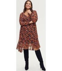 klänning mhanna l/s knee dress