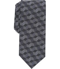 alfani men's acton slim geo tie, created for macy's