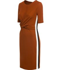 abito di jersey (marrone) - bodyflirt