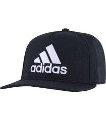 boné aba reta adidas h90 logo - snapback - adulto - preto/branco