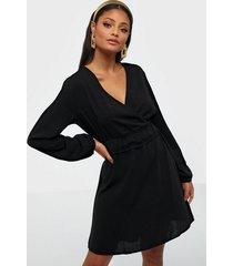 jacqueline de yong jdylucia l/s short dress wvn exp loose fit dresses