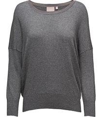 lua pullover knit gebreide trui grijs inwear