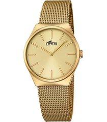 reloj 18481/2 dorado lotus mujer the couples