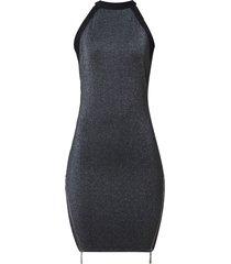vestido john john woman curto malha cinza feminino (cinza escuro, gg)