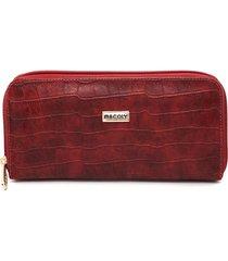 billetera grande a04 komodo rojo
