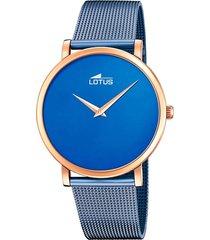 reloj 18773/2 minimalist azul lotus