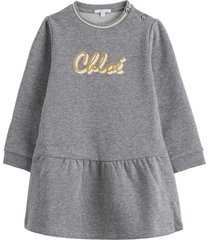 chloé dress with logo