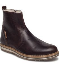 myka z mid fur m shoes boots winter boots brun björn borg
