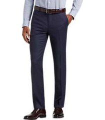 joe joseph abboud blue extreme slim fit suit separate pant